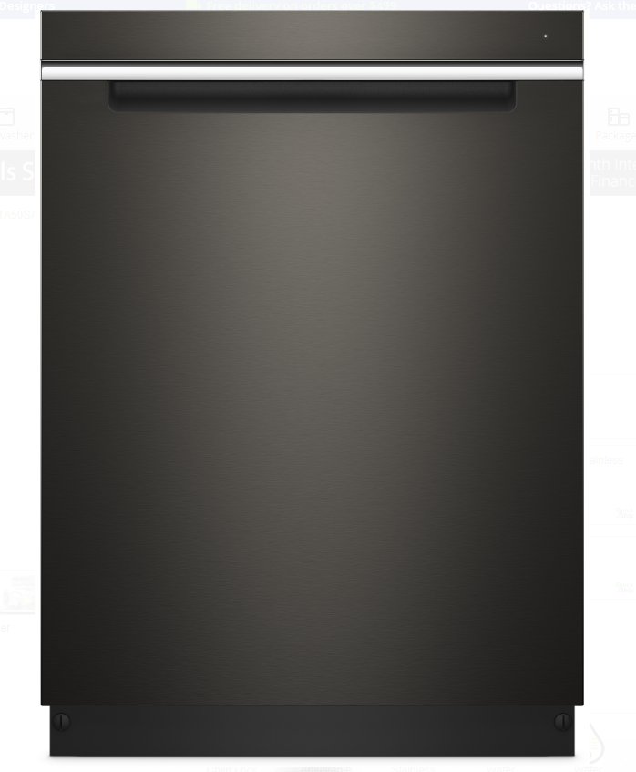 Whirlpool 惠而普 全嵌式洗碗機 WDTA50SAHV (Black Stainless Steel)