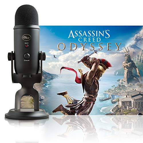 美國雪怪Blue Yeti USB麥克風 + Assassin's Creed Odyssey Bundle