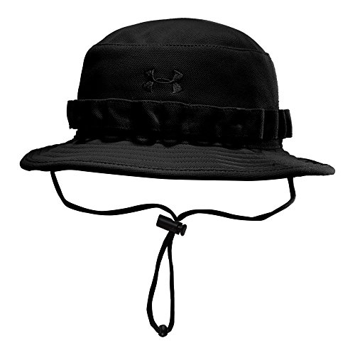 Under Armour Men's Tactical Bucket Hat, Black (001)/Black, One Size