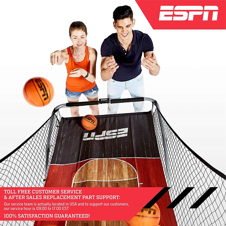 美國代購 ESPN 2 Player電子記分板籃球架(雙人玩)