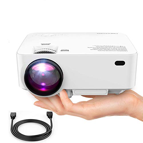 DBPOWER Mini Projector 迷你型投影機 1080p高清微型投影機