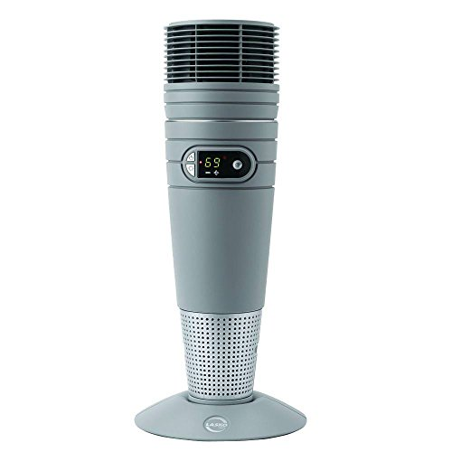 Lasko 6462 Full-Circle Warmth Ceramic Space Heater with Remote Control - Features Wide Heat Sweeping to Warm Large Rooms
