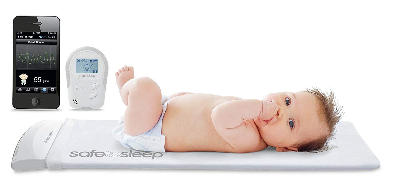 SafeToSleep 嬰兒呼吸監控床墊