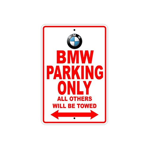 """BMW 專屬停車牌 Parking Only 12""""x18"""" Sign Plate"""