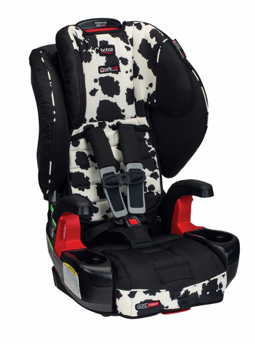 Britax Frontier ClickTight Harness Booster Car Seat - Cowmooflage