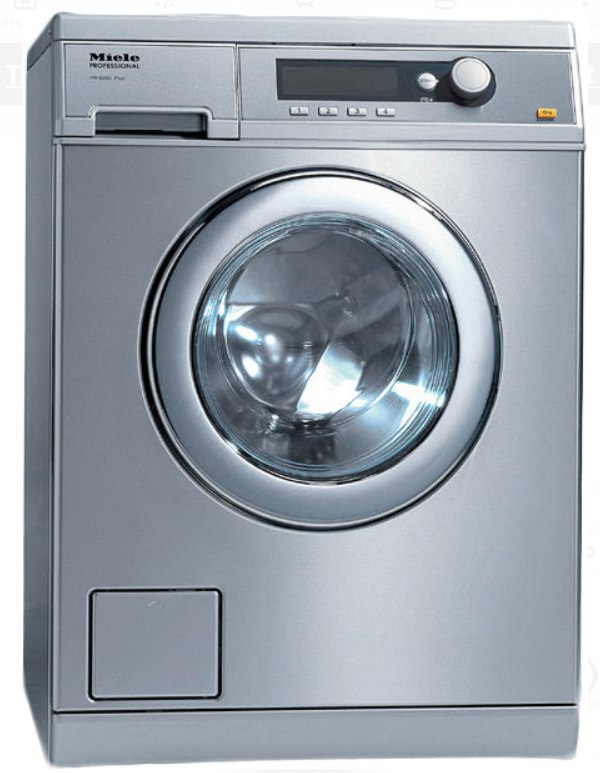 Miele Little Giant Professional  PW6068SS 24 Inch Front Load Washer
